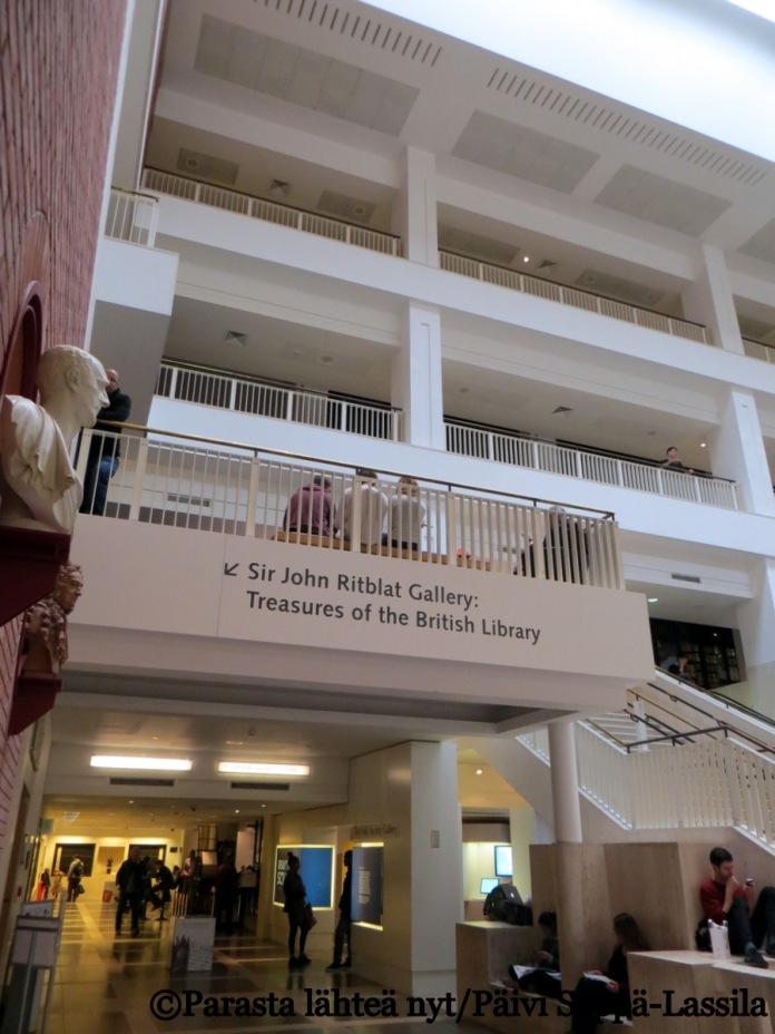 British Library, aulaa