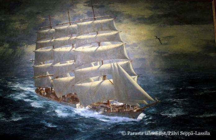 Herzogen Cecilien maalasi Dennis Adams Sydneyssä vuonna 1977.