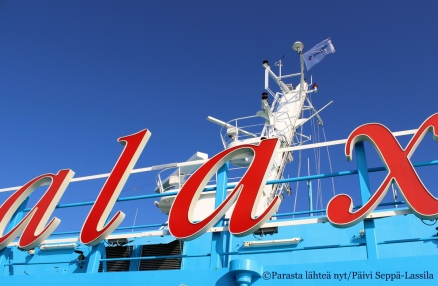 1. Maarianhaminaan minut kuljetti Viking Galaxy -laiva.