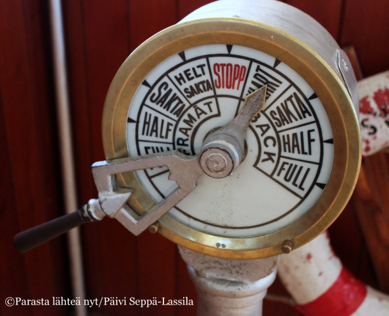 Merenkulkumuseon kokoelmissa on monenlaisia merenkulkuun liittyviä esineitä.