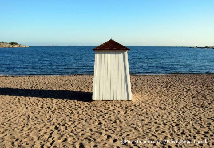 Suuri osa Hangon viehätyksestä perustuu merellisyyteen.