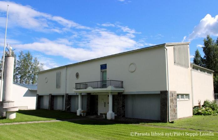 Vuonna 1964 valmistuneen museorakennuksen on suunnitellut Hilding Ekelund.