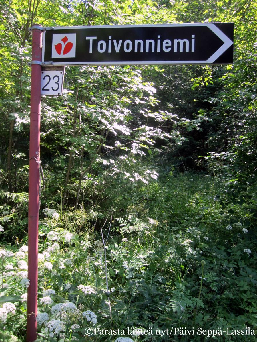 Toivonniemen kesäkoti sijaitsee osoitteessa Iso:Pukintie 23, Ruissalo.