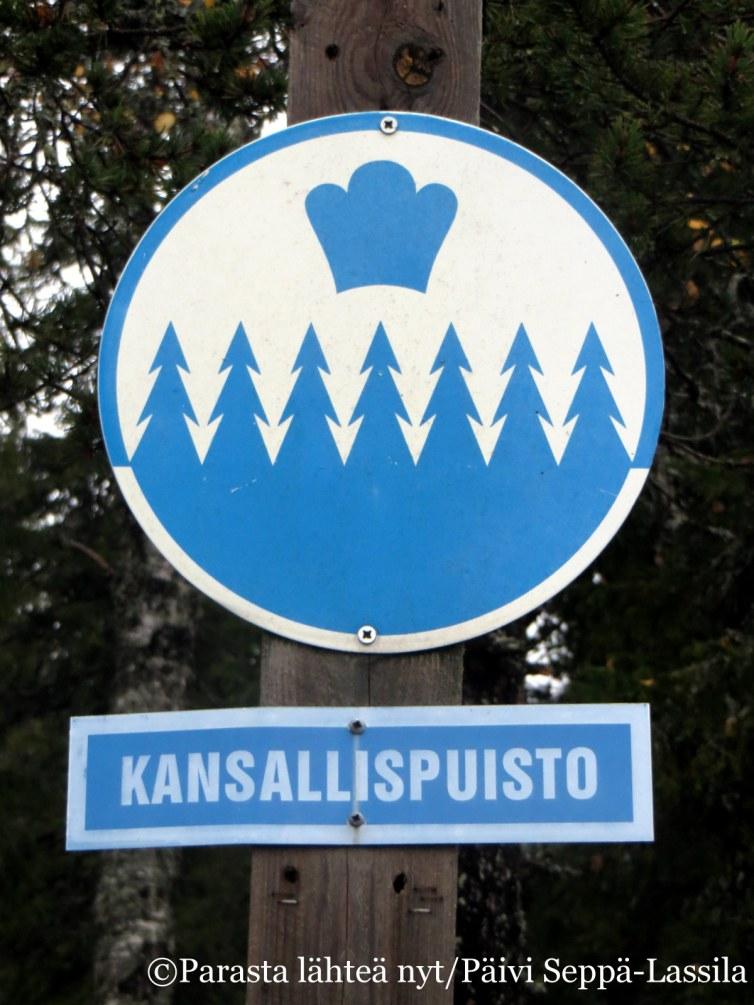 42. Riisitunturin kansallispuisto on perustettu vuonna 1982. Sen pinta-ala on 77 neliökilometriä. .