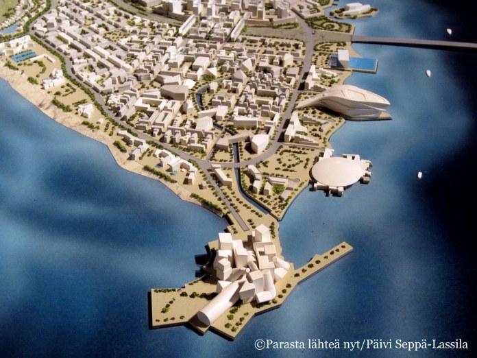Saadiyat-saarelle rakennetaan useita arkkitehtonisesti mielenkiintoisia museoita.