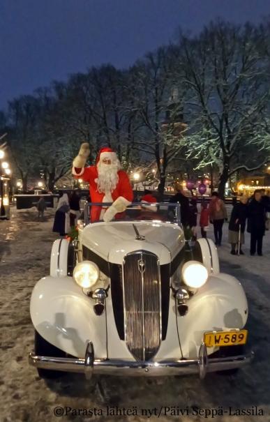 Jouluaattona nähdään! Kuvat vuodelta 2014.