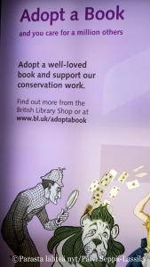 Voit osallistua British Libraryn aineistojen konsevointiin pienemmällä tai isommalla summall summalla.