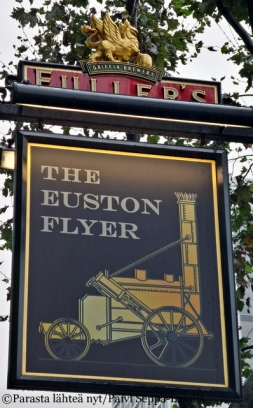 The Euston Flyer, Lontoo