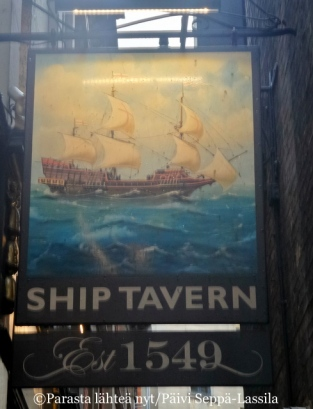 The Ship Tavern, Lontoo