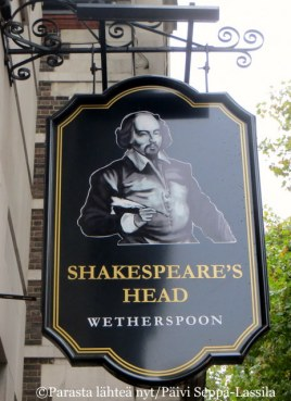 The Shakespeare´s Head, Lontoo