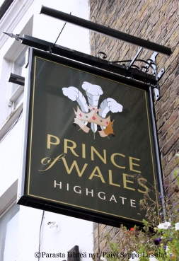 The Prince of Wales, Lontoo