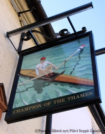 Champions of the Thames, Cambridge