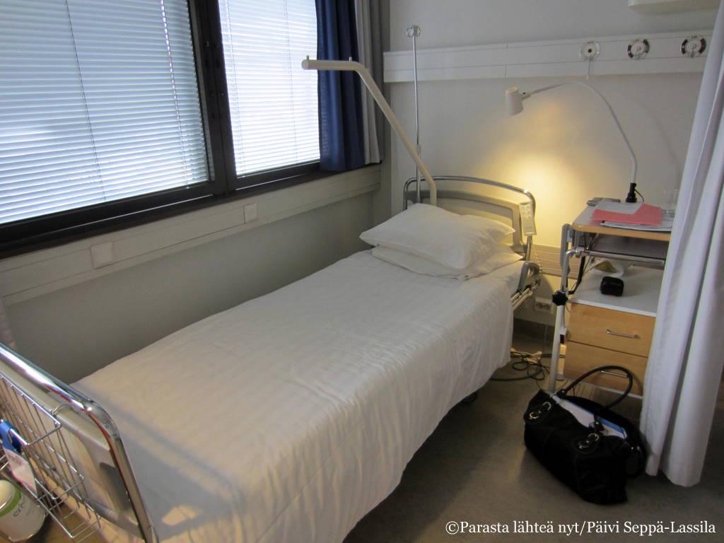 Pulssin sairaalasänky.