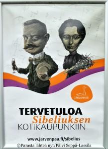 Janne ja Aino toivottavat tervetulleiksi Järvepäähän.