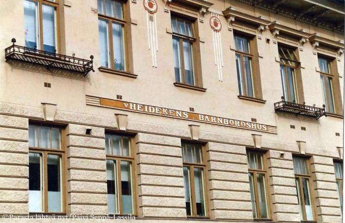 Heideken - von Heidekens barnbordshus - on legendaarinen turkulainen synnytyssairaala.