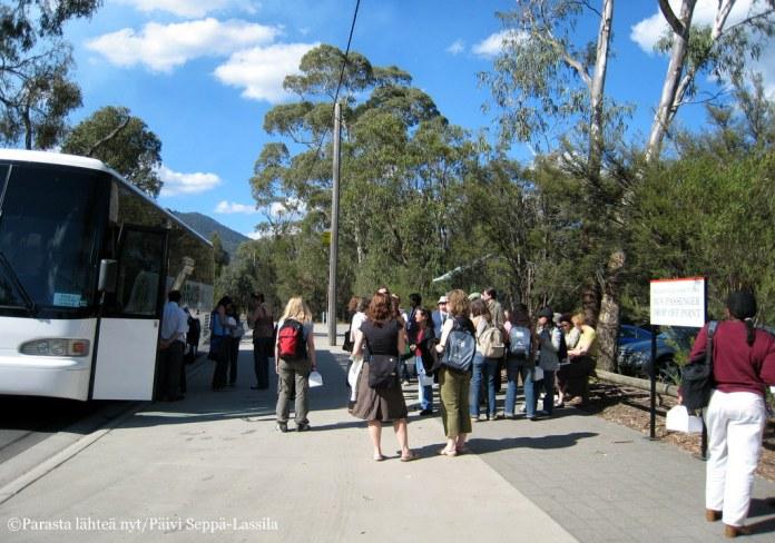 Tutustumassa Australian ihmeelliseen luontoon.