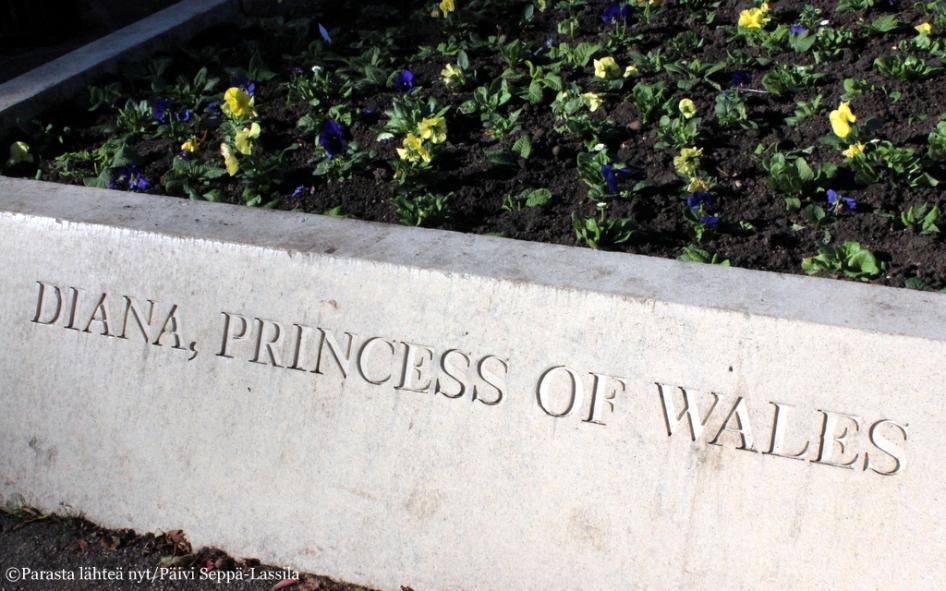 Prinsessa Dianan muisto elää.