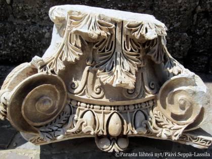 Muinaisia käsityötaidon näytteitä on runsaasti nähtävillä.