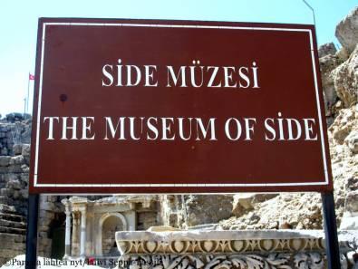 Siden museo toimii entisessä roomalaisessa kylpylässä.