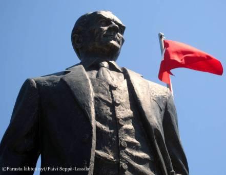 Mustafa Kemal, joka otti sittemmin nimekseen Atatürk, turkkilaisten isä. Hän oli Turkin presidentti vuodesta 1923 vuoteen 1938.