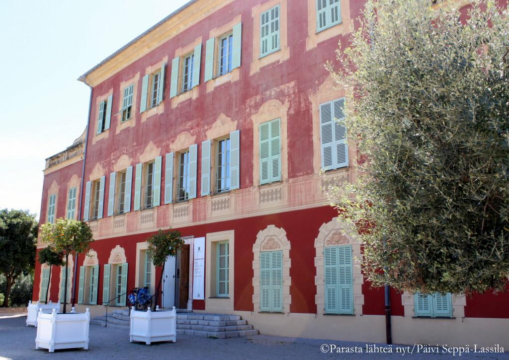 Henri Matisse asui tässä talossa itsekin. Nyt se on hänen taidettaan esittelevä museo.