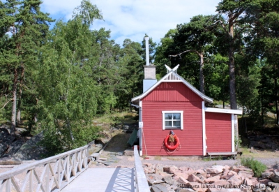 Toivonniemen puulämmitteinen sauna tarjosi ladyille kuumia löylyjä neljänä iltana.