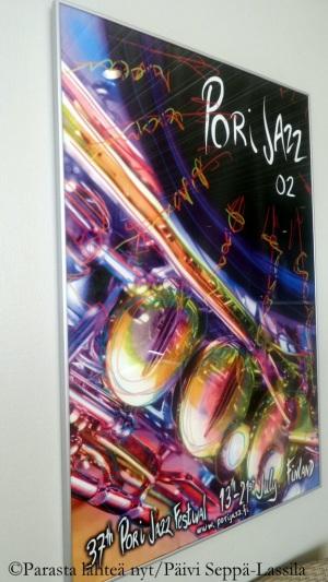 Vuoden 2002 Porin Jazz -julisteen on suunnitellut ?