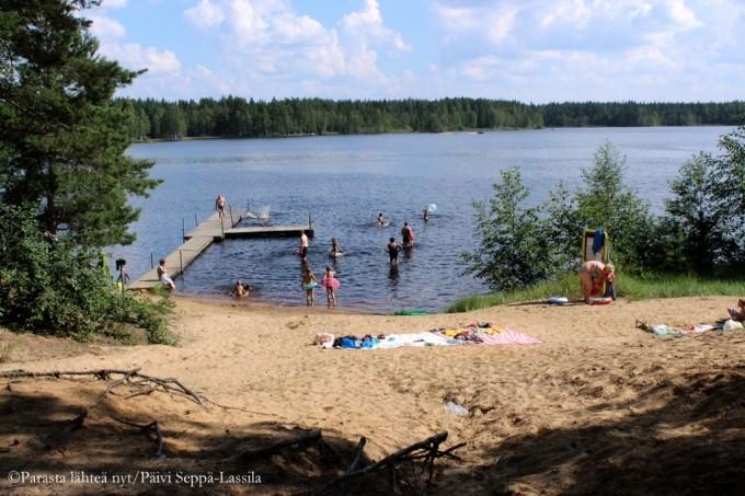 71. Menkijärvi. Alajärvi.