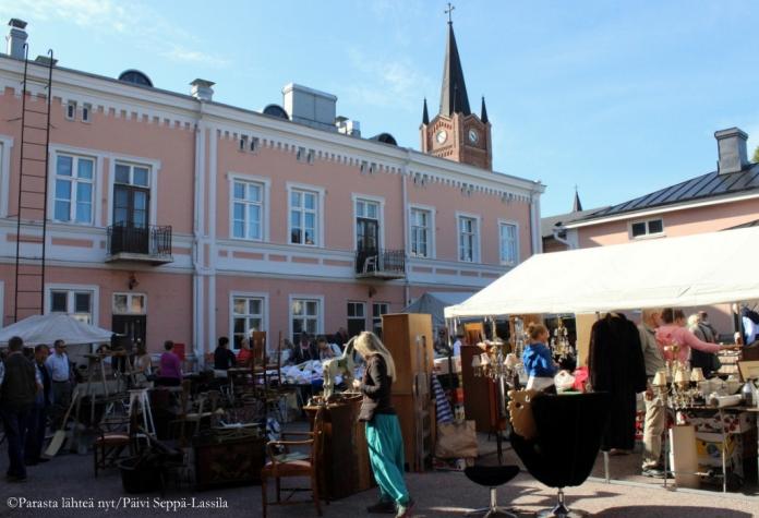 Antiikkimarkkinat.