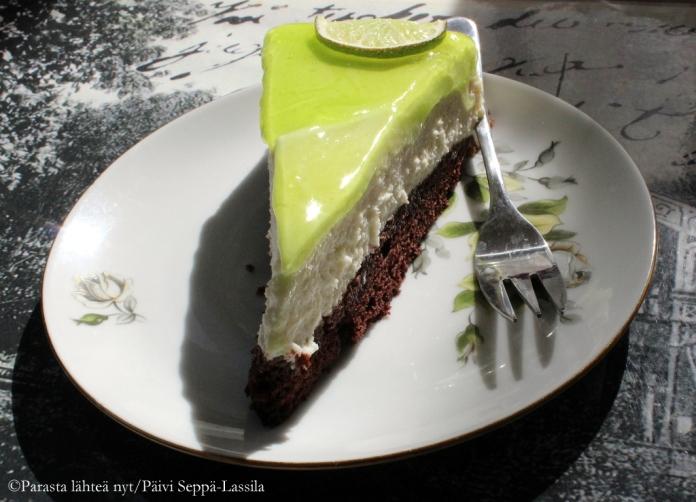 Lime-juustokakku