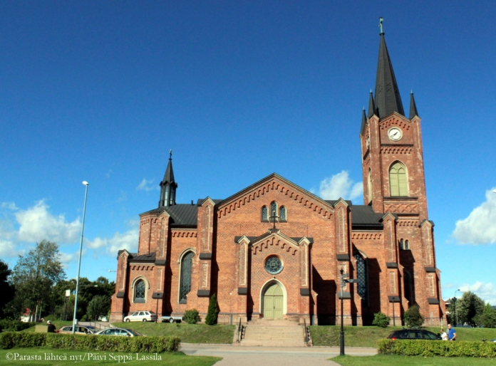 LOviisan kirkko.