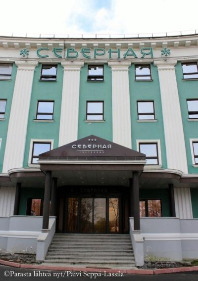 Hotelli Severnaya Kirovskissa.