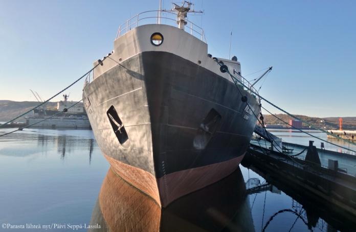 Ydinjäänmurtaja Leninin paikka on nyt Murmanskin satamassa museolaivana ja tiedekeskuksena.