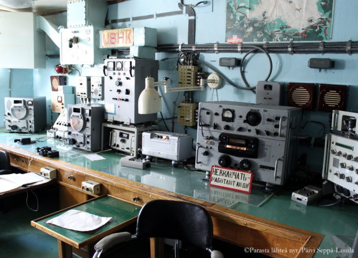 Tässä osa Leninin mittaristoista ja laitteista.