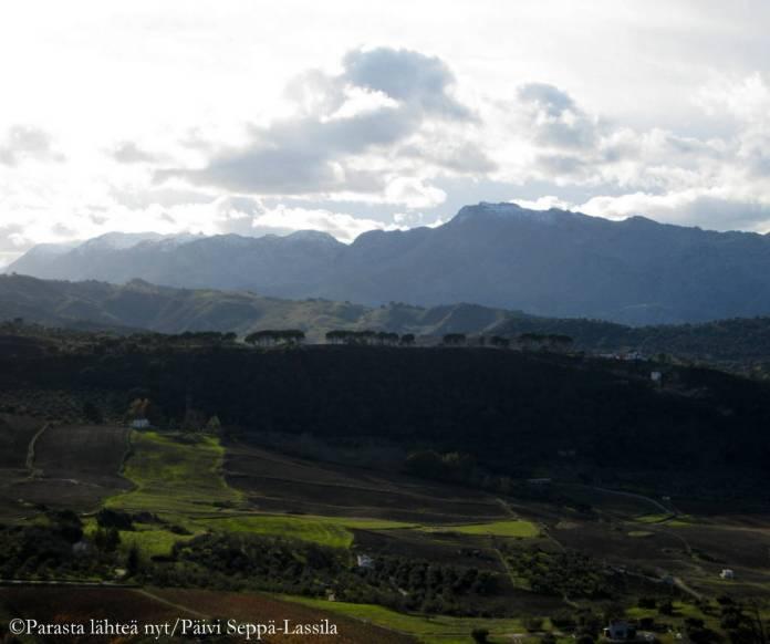 Rondan vuoristomaisemaa