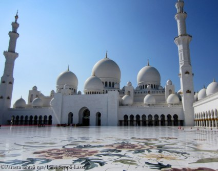 Suuri moskeija;The Sheikh Zayed Grand Mosque.