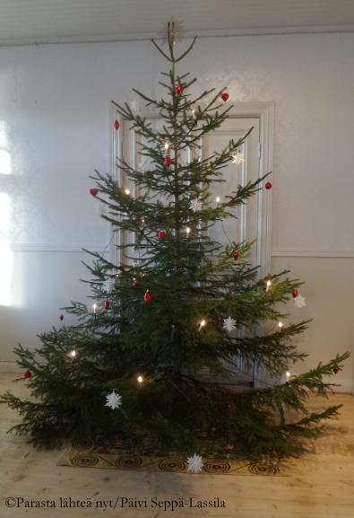 Joulukahvila Paratiisi, Ruissalo.