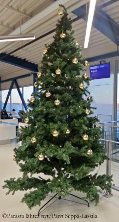 Helsinki-Vantaan lentokenttä.