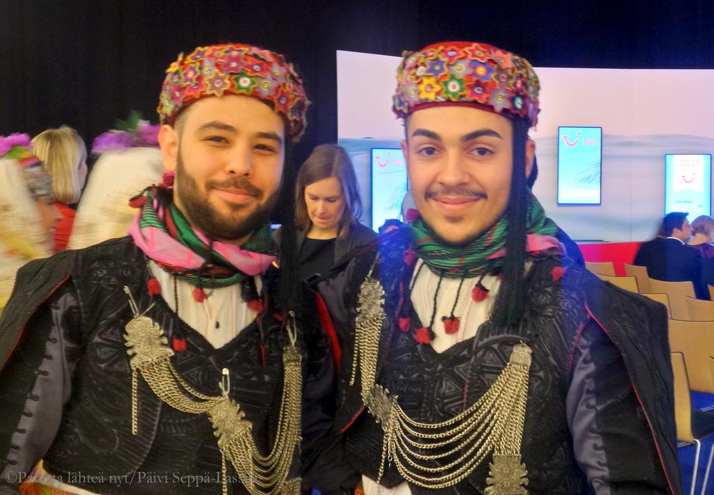 Turkkilaisia tanssijoita