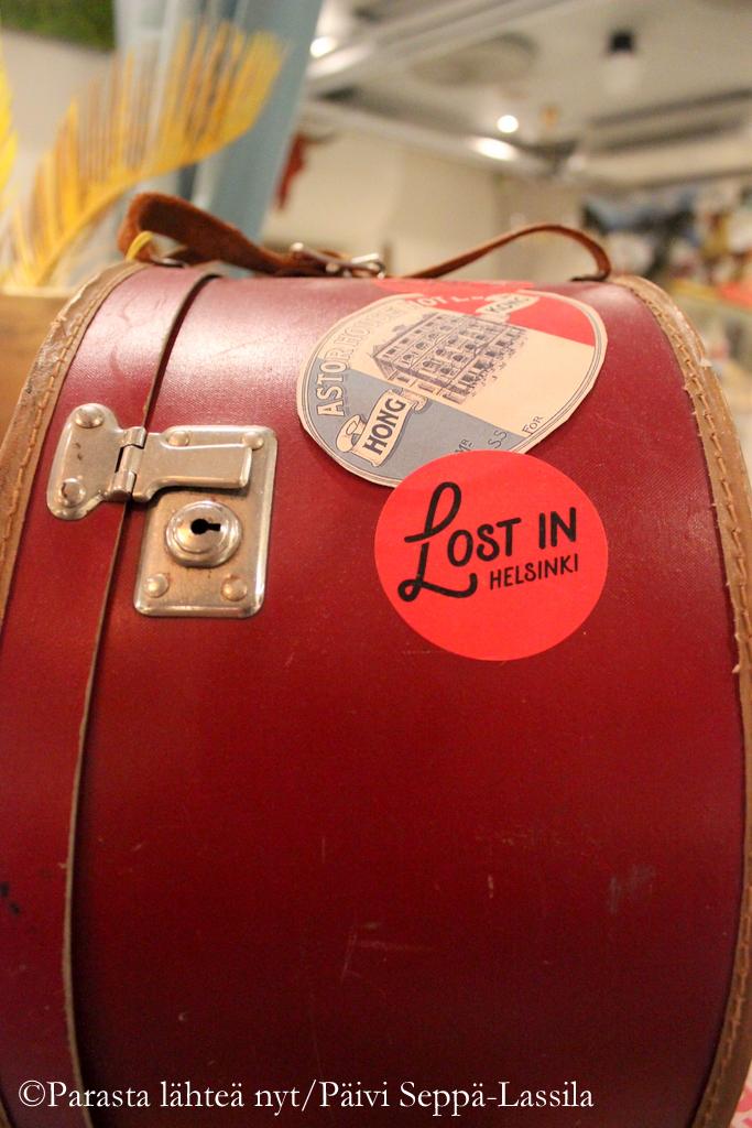 Lost in Helsinki -laukku