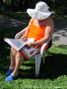 Luovien ladyjen kesäisellä viikolla voi vaihtaa vapaalle ja nauttia heinäkuisesta luonnosta.