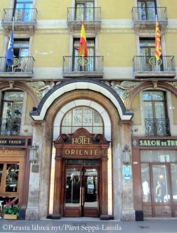 Hotel Oriente.