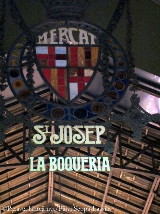Mercat de Sant Josep de la Boqueria - kauppahalli