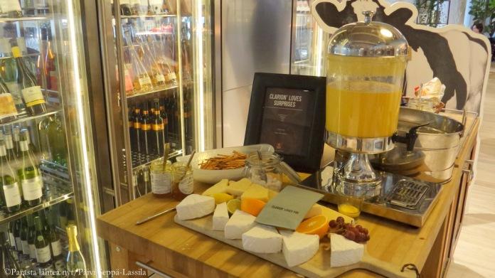 Smoothieta ja juustoa