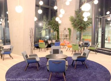 Living Room Bar on yksi Clarion-hotellin kolmesta ravintolasta.