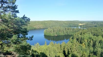 Järvimaisema Aulangolta, Hämeenlinnasta.