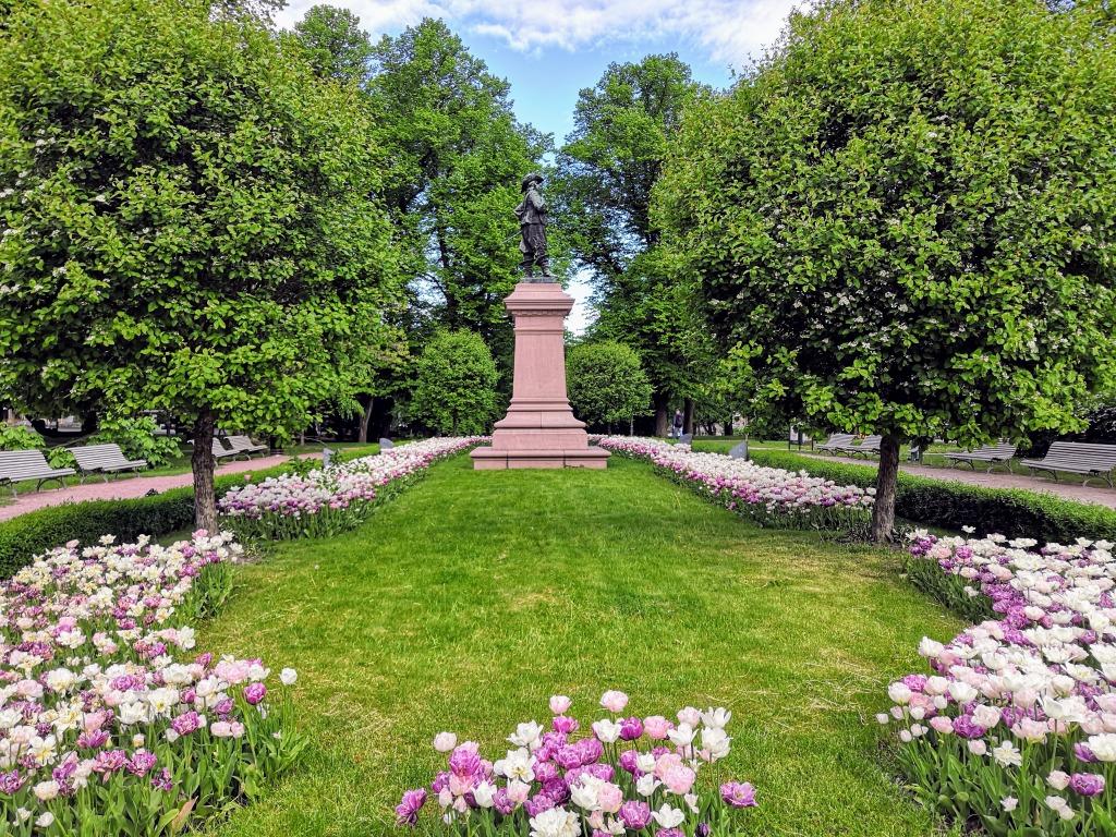 Brahen patsas, puisto
