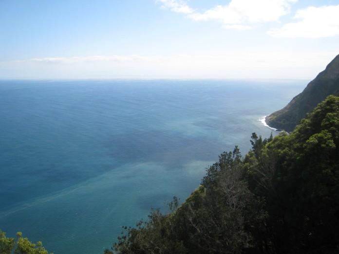 Sinistä merta näköalapaikalta, Atlanti