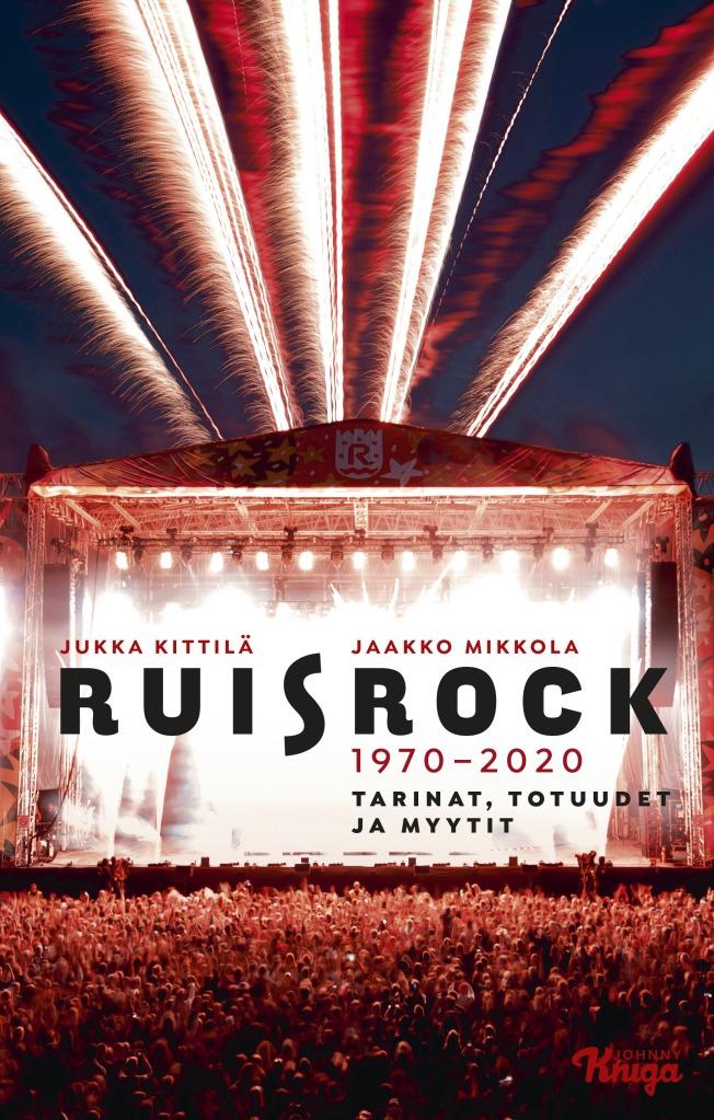 Kansi kirjasta Ruisrock 1970-2020. Tarinat, totuudet ja myytit.