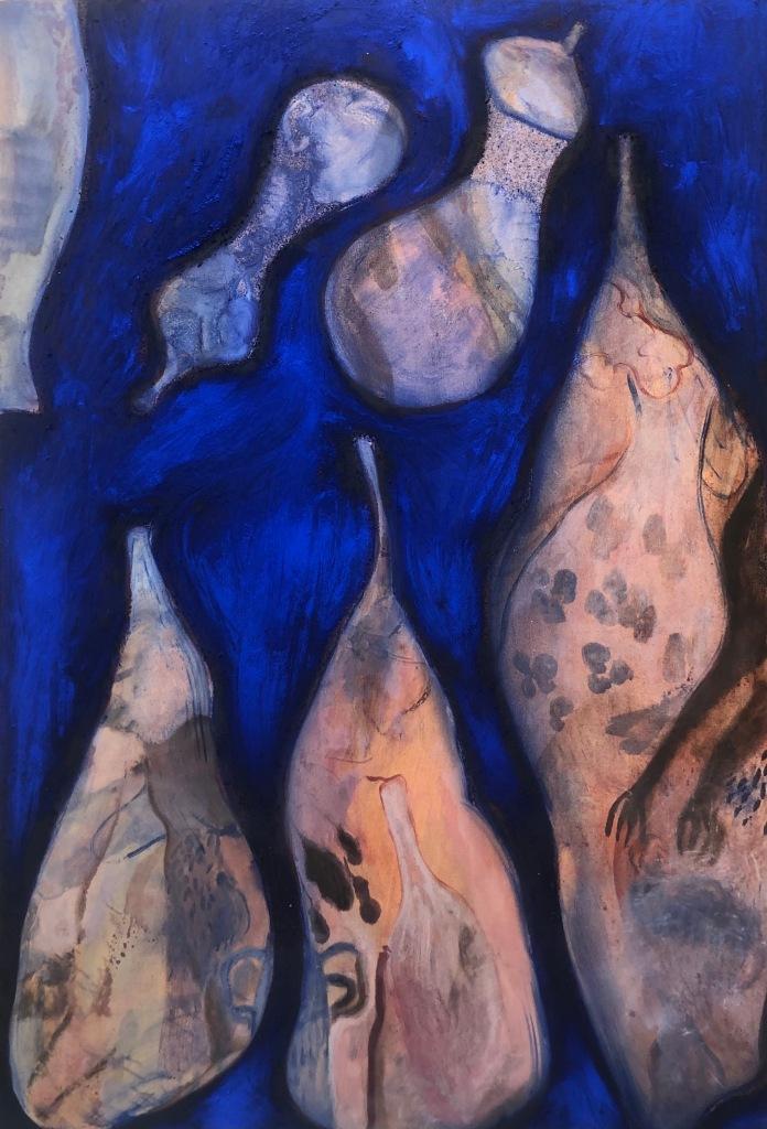 Niina Villanuevan maalaus.